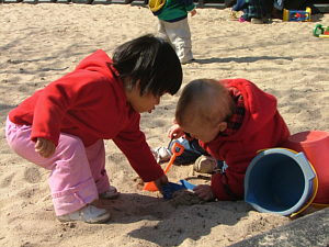 Infants in sandbox2